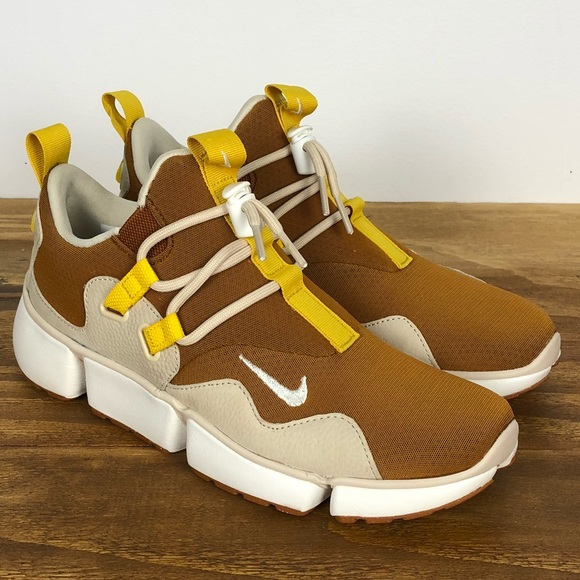 best service 76484 76d98 Nike Nikelab Pocketknife DM Tawny Sail Gold White